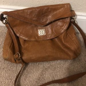 Large leather Tory Burch